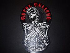 "METAL MULISHA Remains Helmet Skate Sticker 6"" motocross skateboard decal"