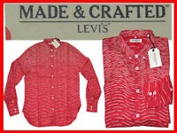 LEVIS MADE & CRAFTED Shirt For Man S US / M EU  UNTIL - 80 % LE03 TOD1