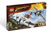 *BRAND NEW* LEGO Indiana Jones Fighter Plane Attack 7198 *LIGHTLY DENTED*