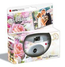 5 x Einwegkamera AGFA Hochzeit  mit je 27 Aufnahmen Wedding Hochzeitkameras !!