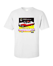 1955 1956 Ford Crown Victoria Classic Car T-shirt Single OR Double Print