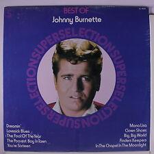 JOHNNY BURNETTE: Best Of LP Sealed (Canada) Oldies