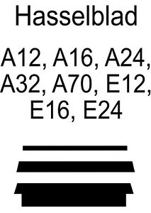 Hasselblad Light Seal Kit - Lichtdichtung A12, A16, A24, A32, A70, E12, E16, E24