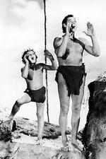 Johnny Sheffield Johnny Weissmuller Tarzan's Secreto Treasure 11x17 Mini Póster