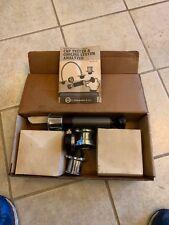 Vintage E. EDELMANN & CO. Radiator Cooling System Pressure Tester Kit Heavy Duty