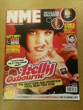 NME FEBRUARY 1 2003 LIAM GALLAGHER THE VINES KELLY OSBOURNE DATSUNS 50 CENT