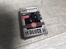 Wicked Audio Deuce In Ear Headphones earbud noise isolation new sealed