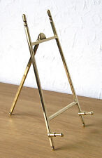 """Contemporary"" Italian Cast Brass Display Easel 10 x 20cm"