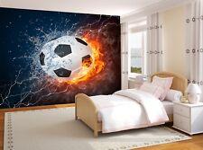 Soccer Ball   Photo Wallpaper Wall Mural DECOR Paper Poster Free Paste