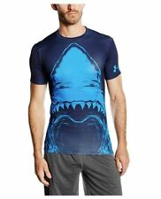 * Under Armour Men's UA Beast Shark Compression Shirt, Midnight Navy, SIZE Med