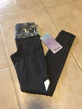 NWT Ivivva (Lululemon Girls) Size 8 Chill Drill Pant Tight Legging Grey $72