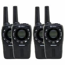 4 COBRA CXT235 MicroTalk 20 Mile FRS/GMRS 22 Channel Walkie Talkie 2-Way Radios