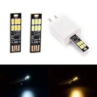 portable mini usb power 6 led lamp touch dimmer warm/pure white light laptop  Cw