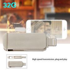 chiavetta USB Flash Drive Stick 32GB OTG per Apple iOS iPhone iPad PC 2 in 1