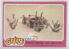 1978 Topps Grease #54 Greased Lightning man what a car! Non-Sports Card 2k7