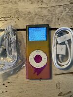 Apple iPod nano 2nd Generation Pink (4 GB) USED BUNDLE DISCOUNTED