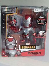 "Jada Metals 6"" Inch Ironman 2 Mark V Lootcrate Exclusive Die Cast Figure New M57"