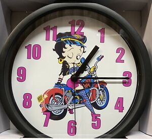 Betty Boop Wall Clock