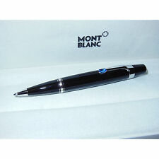 New Montblanc Boheme Blue Sapphire Black/Platinum Ballpoint Pen 5795 (25230)
