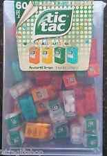 BIG TIC TAC LILLIPUT WITH 60 MINI PACKS X 3,9g SPEARMINT MINT ORANGE PEACH