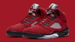 Jordan 5 Retro Raging Bull Red - Toro Size 8.5 (IN HAND)