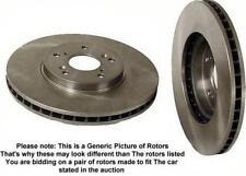 1989-98 Chevrolet Geo Tracker Brake Disc Rotor Rotors F