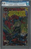 Spider-Man Maximum Clonage: Omega (NM/MT) CGC 9.8 White Pages #1 Amazing Comic
