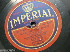 78rpm VINCENT LOPEZ ORCH song of the dawn / it happened in monterey IMPERIAL 229