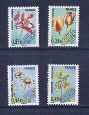timbre France préoblitéré  fleurs  divers  n° 253/56  **