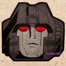 Starscream Face Patch Transformers Generation 1 Decepticons Autobots Embroidered
