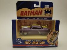Two-Face Car Corgi 1950's DC COMICS BATMAN 1:43 Scale MIB 2005