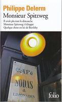 Livre Poche monsieur Spitzweg Philippe Delerm Folio Mercure de France 2014 book