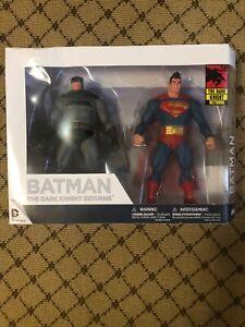 DC Comics Batman the Dark Night Returns Batman & Superman Figures NIB