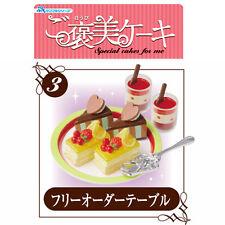 Rare! Re-ment Miniature Special Cakes & Elegant Silverware No.3 Fruit Cake