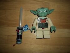 Lego Star Wars Yoda AlarmDigital Clock & M&M Vader Sword