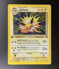 1999 Pokemon Cards-1st Edition Jungle Jolteon 4/64 Rare Holo WOTC PSA? BGS? CGC?