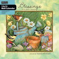 BLESSINGS - 2022 WALL CALENDAR - BRAND NEW - LANG ART 01736