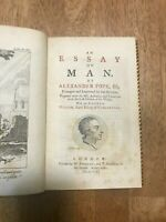 Alexander Pope Essay on Man 1771 early edition