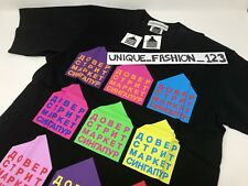 Gosha rubchinskiy Dover Street Market S Singapur Camiseta Pequeño Camiseta Negro 'DSM
