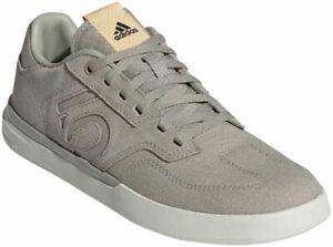 Five Ten Women's Sleuth Flat Shoes | Feather Grey / Sesame / Glow Orange | 7.5