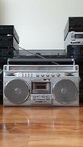 Sharp GF-8989E Stereo Radio Cassette Recorder *Mint Condition*