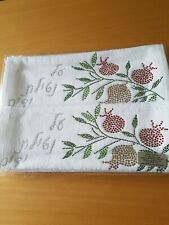 2 hand towels with Hebrew writing
