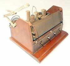 vintage RCA VICTOR * model 77V2 RADIO - CHASSIS w/ 7 TUBES / Front Door & Spring