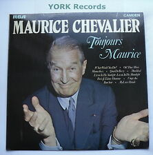 MAURICE CHEVALIER - Toujours Maurice - Ex Con LP Record RCA Camden CDM 1007