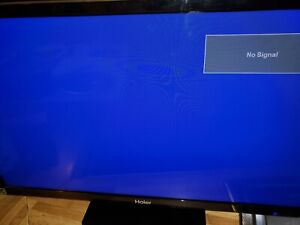 Haier TV 22 x 13 USED with Remote USB HDMI TV for Desk/dresser top.etc
