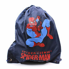 Sac à dos Spiderman Marvel ENFANTS ECOLE Cordon Travel Blue garçons