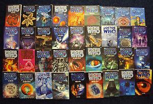 Doctor Who BBC EDA Novels. New