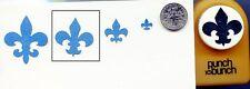 Medium Fleur De Lis Shape Paper Punch x Punch Bunch Scrapbooking-Cardmaking NEW