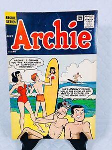 ARCHIE COMICS * ARCHIE * #140 🤣😂 1963 SILVR AGE VG