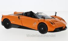 Pagani Huayra Roadster, metallic-orange - 1:24 Motormax >>NEW<<